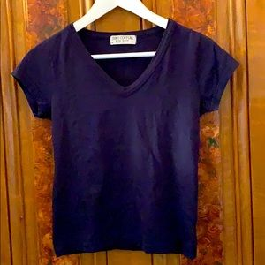 Juicy Couture Simple V Neck Tee